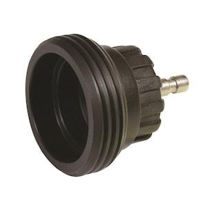 Radiator Cap Pressure Tester Adaptor - Black M62 Screw