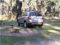 The GoSee Captiva ready to camp Grampians NP