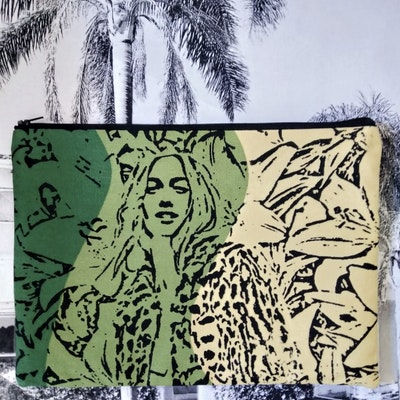 Halinka Design Zipper Pouch - La Boheme Print