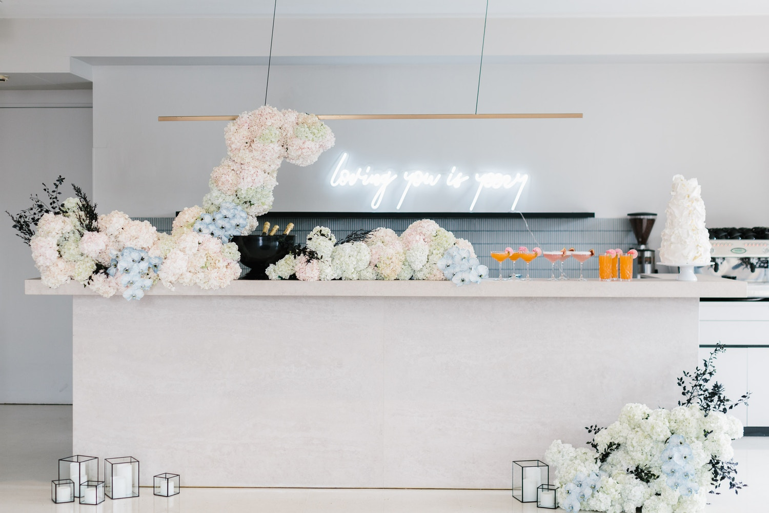LOVING YOU IS YEEZY: AN URBAN LUXE WEDDING