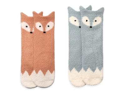 Foxy Knee Socks (0-24mths)
