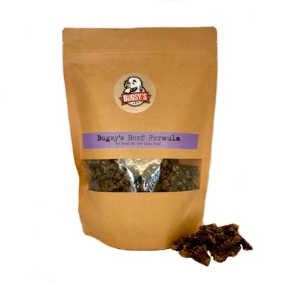 Bugsy Pet Supplies DRY FOOD | Bugsy's Air-Dried Beef Meal Formula