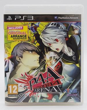 Persona 4 Arena + Original Arrange Soundtrack (PlayStation 3 PAL) COMPLETE