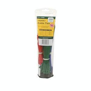 Tridon Cable Tie Combo Pack 100mm & 200mm- Assorted Colours - 200pk