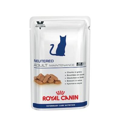 Royal Canin VET Neutered Maintenance Adult Pouch Wet Cat Food 100G
