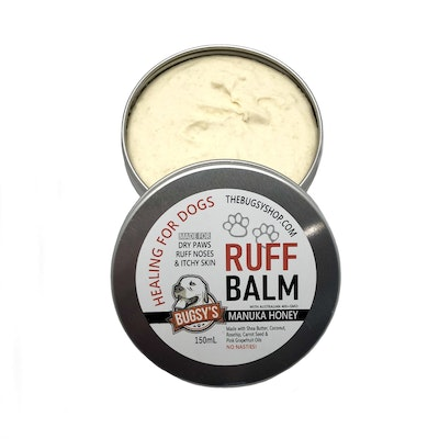 Bugsy Pet Supplies GROOMING | Bugsy's RUFF BALM for healing sore paws and dry noses