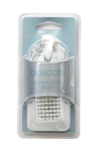Basic Care Pumice With Brush 9.5cm