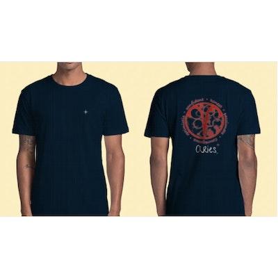 Interstellar Beverages Horoscope [MALE] T-Shirt Aries