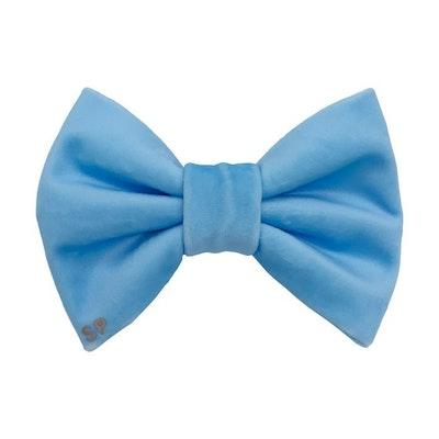 Swanky Paws Light Blue Bow Tie