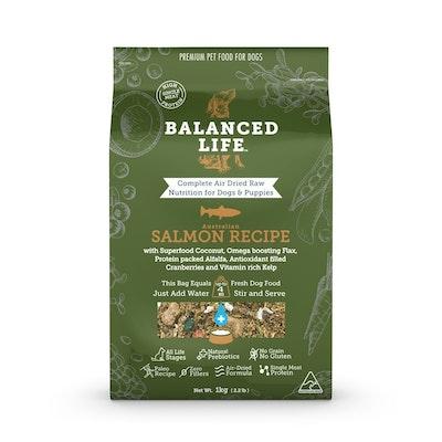 BALANCED LIFE Salmon Air Dried Dog Food 1kg