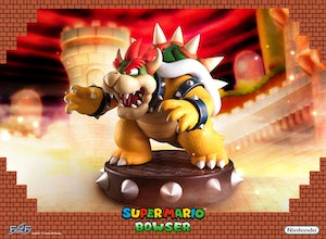 First 4 Figures Bowser Regular Statue Brand New In Box