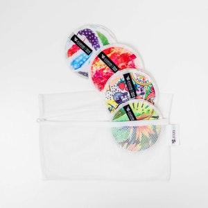 Designer Bums Nursing Pads Trial Pack - Brights