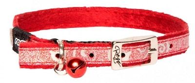 Rogz Collar Pin Buckle Sparklecat Red