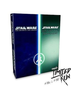 Limited Run - Star Wars Jedi Knight 2 / Jedi Academy for ps4 brand new sealed