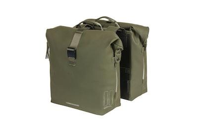 Basil Soho Double Bag Nordlicht Moss Green 41L