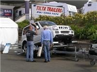 Small vehicle towing solution