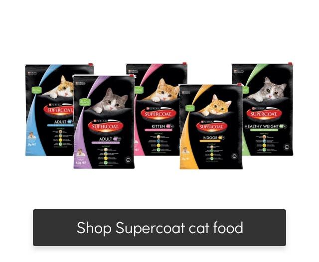 supercoat cat food range