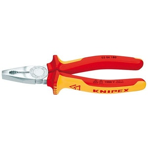 Knipex 160mm Combination Pliers - 1000V VDE