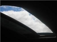 Captiva sunroof works well