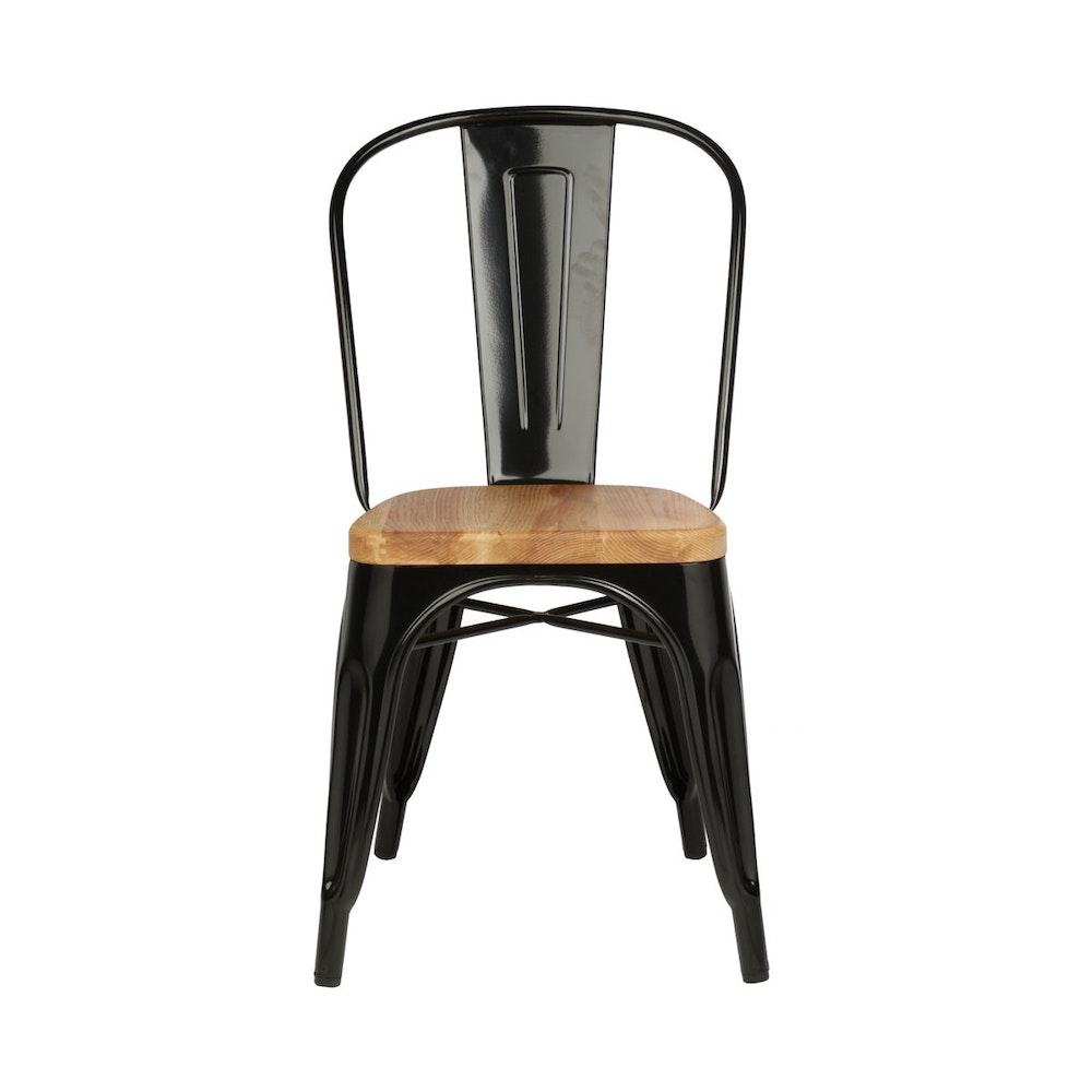 Paris dining chair ash black dining room chairs for for Black dining chairs for sale