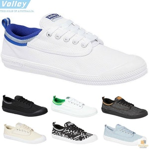 Boutique Medical DUNLOP VOLLEYS Volley International Men's Sneakers Casual Lace Up Shoes Canvas