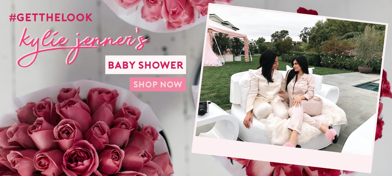 Recreate Kylie's Baby hower