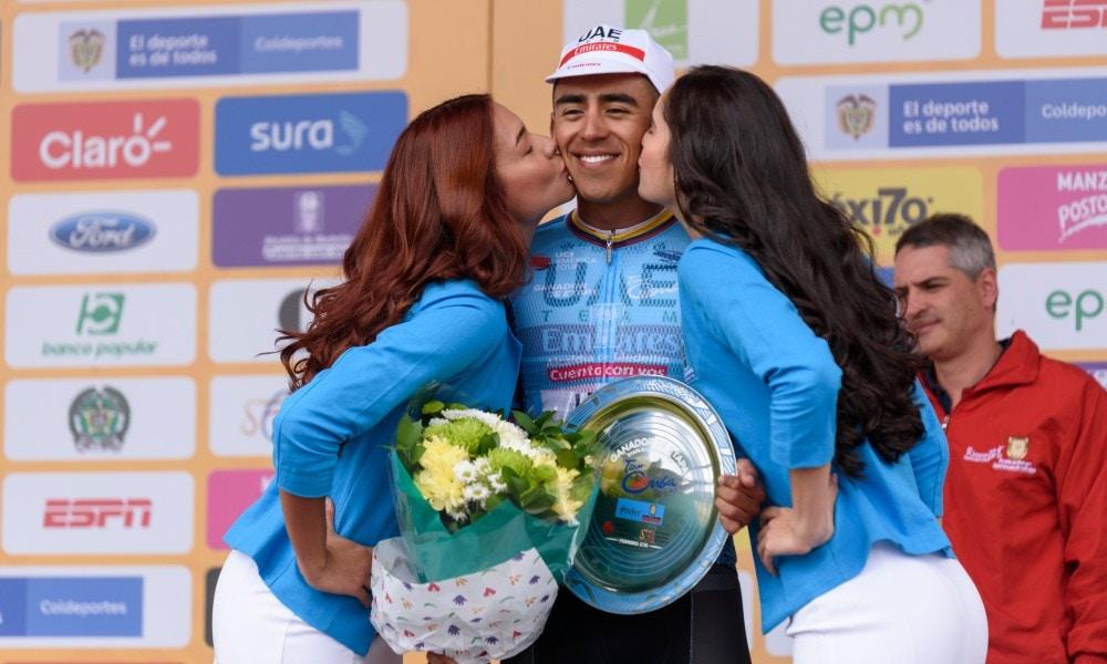 Brillan los colombianos en el Tour Colombia 2.1: Sebastián Molano llega primero en la tercera etapa