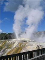 In Rotorua the earth is a living presence alive and boiling and all who walk it become Tangata whenua (people of the land)