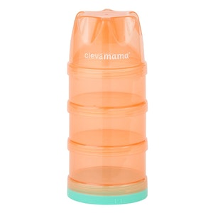 ClevaMama Travel Container - Stackable Formula & Food Container