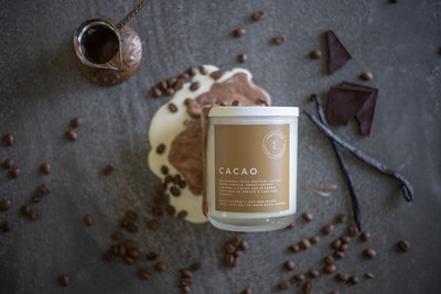 Emberfield CACAO Luxury Candle | Signature Organic Coconut / Soy Wax Blend, Vegan Friendly, Phthalate Free