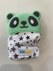 BibiLand BibiMitt Panda Teething Mitts - Mint