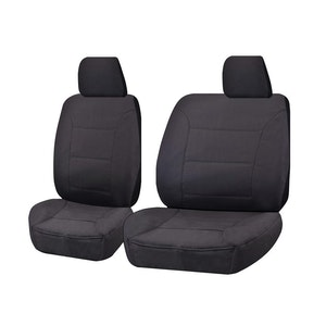 Challenger Car Seat Covers For Mitsubishi Triton Ml-Mn Series Single Cab 2006-2015 | Charcoal
