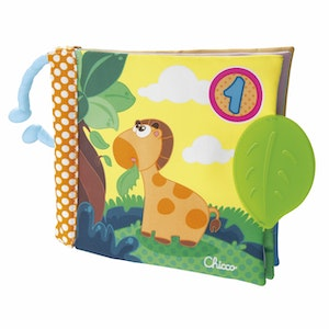 Chicco (Fabric) 1-2-3- Book Stroller Toy