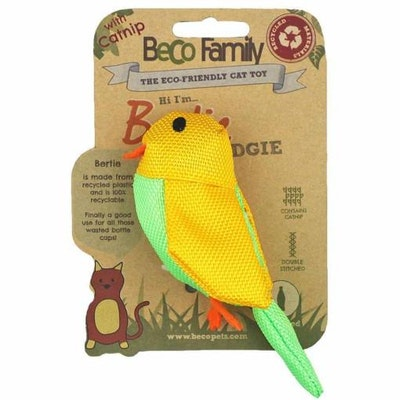 Beco Things Beco Cat Nip Toy - Budgie