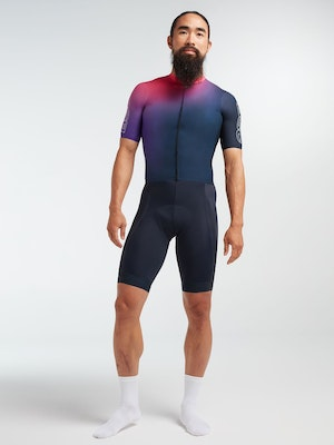 Black Sheep Cycling Men's Racing Climbers Jersey - Lakers Ombre