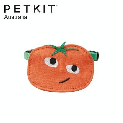 PETKIT Pet Saliva Towel Collar - Red Persimmon