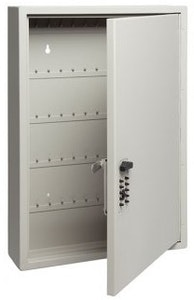 Kidde Touchpoint key cabinet 60 key capacity in Clay colour