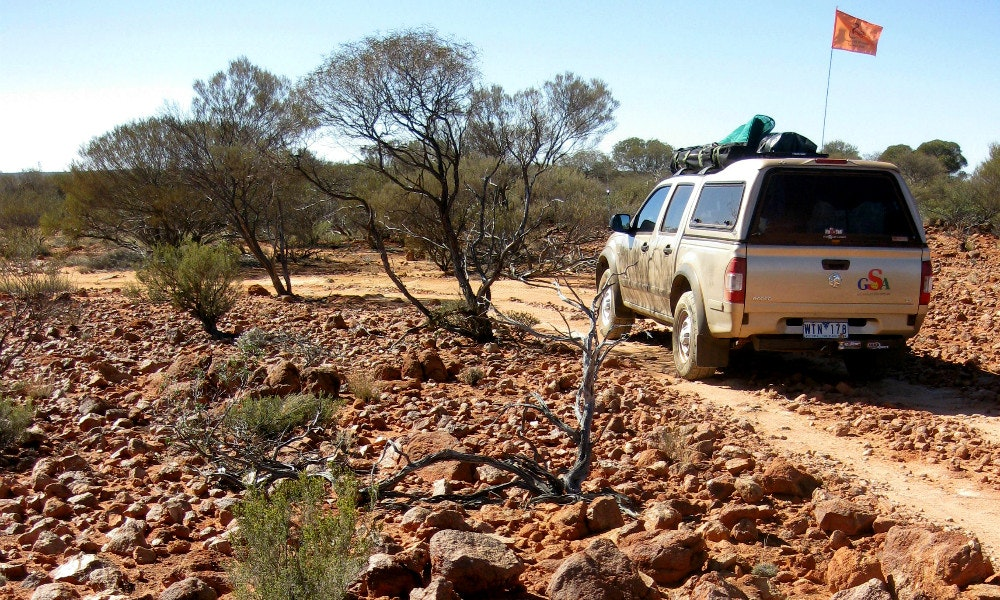 gibber rocks on the canning stock route