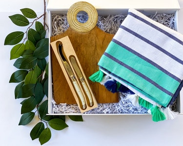 Picnic Party - Navy and Green