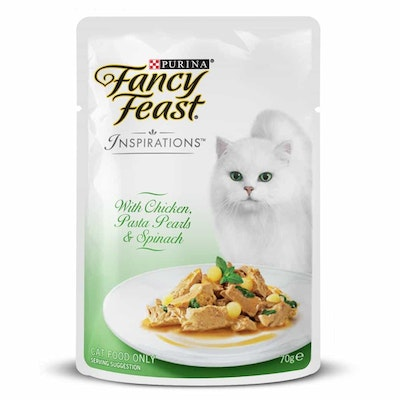Fancy Feast Inspirations Chicken, Pasta & Spinach Wet Cat Food