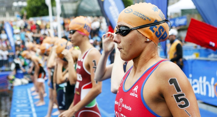 ITU World Triathlon start women