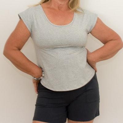 Australian Made Organic Cotton - BJ's PJ's Bettina Short Sleeve T-shirt