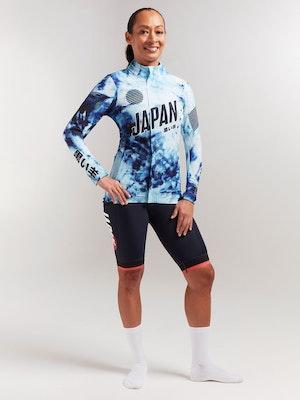 Black Sheep Cycling Women's Elements Micro Jacket - Shibori