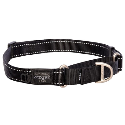Rogz Control Collar Web Black