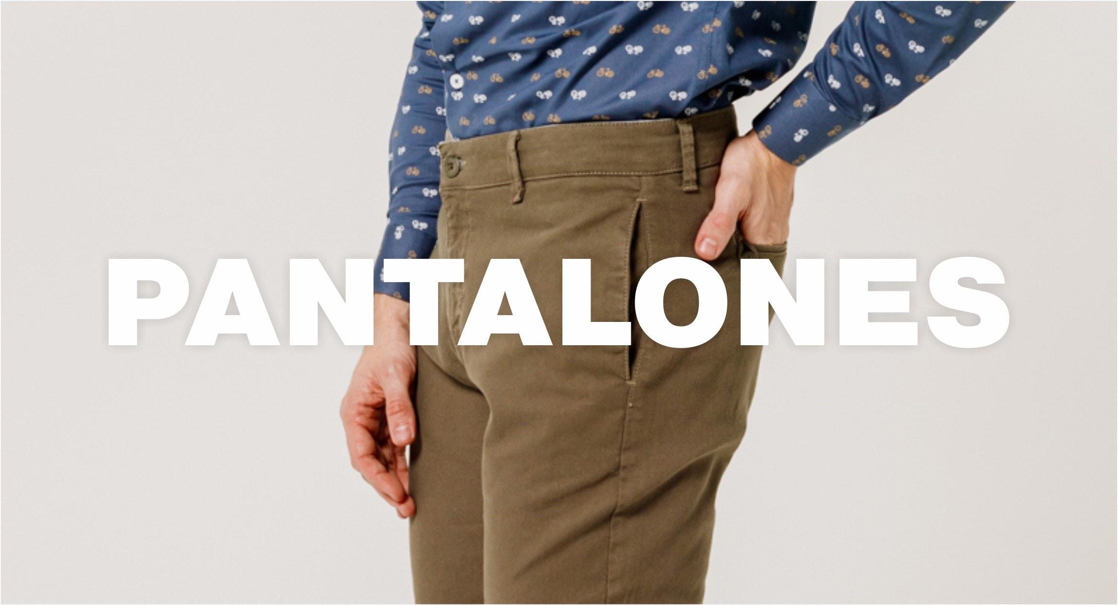 Pantalones Casuales y Formales para Hombre