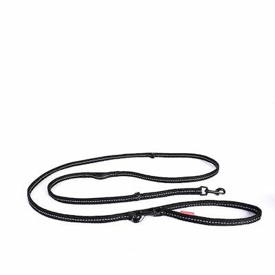 Ezydog Vario 6 Lite Multi Function Dog Lead Black
