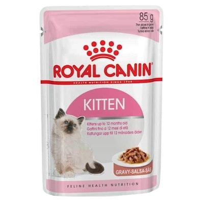 Royal Canin Instinctive Kitten In Gravy Wet Cat Food 85G