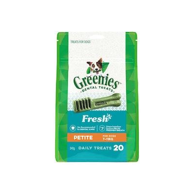 Greenies Freshmint Petite 340G 20PCS