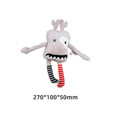 Honeycare Dog Squeaky Toy - Mr Sock