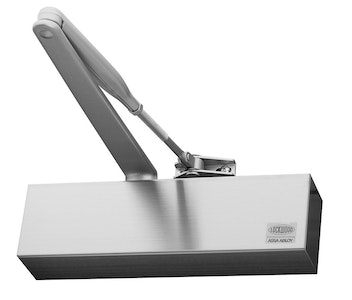 Lockwood 7726 Series Size 2-6 Closer Adjustable Backcheck Delayed Action Satin Stainless Steel